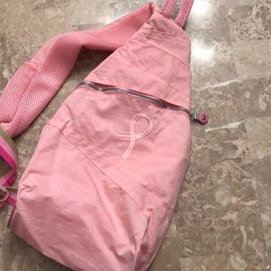 Handbags - Cute nylon sling Breast Cancer backpack
